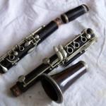 Démontage de la clarinette