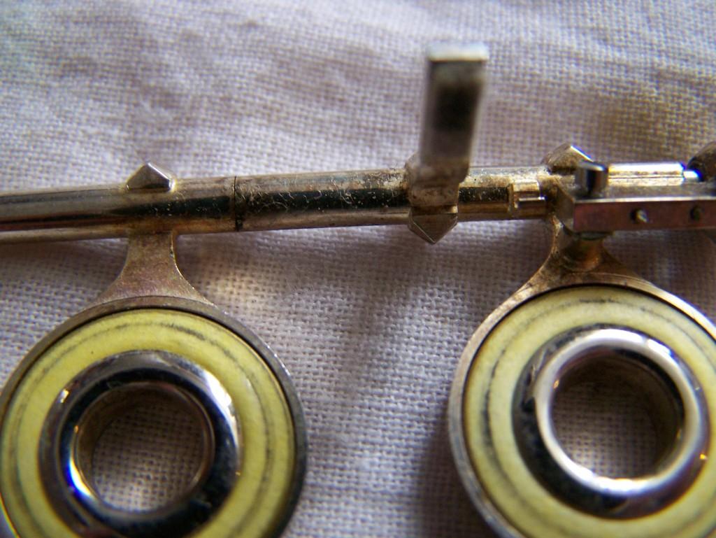 Démontage du corps et des clés