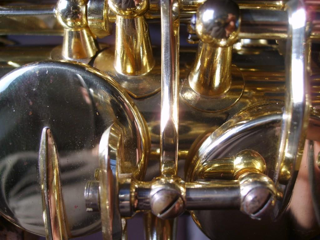 Restauration d'un saxophone